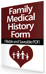 Family Medical History Forms - Free! - Family Medical History Free ...