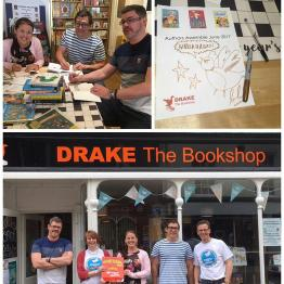 Authors assemble at Drake The Bookshop