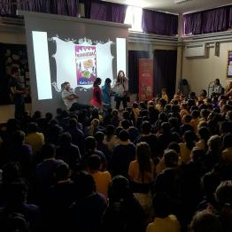 Day four - packed in at Laurance Haines Primary in Watford