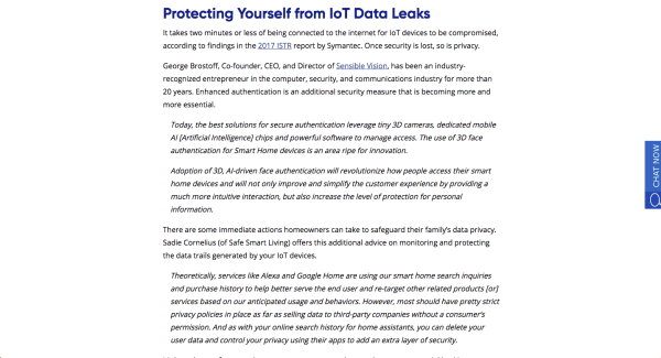 Scott Amyx Shares Practical Safeguards to Protect IoT