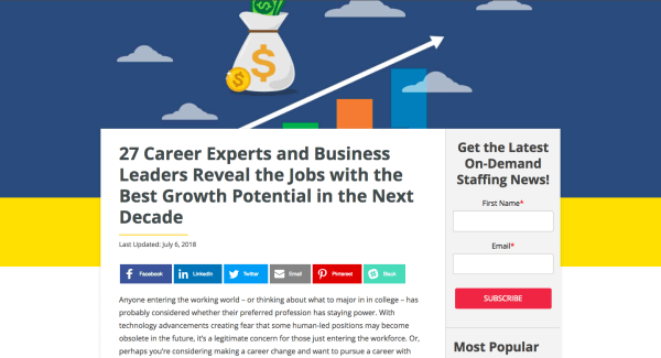 Scott Amyx Interviewed on Jobs with the Best Growth