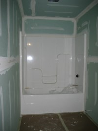 drywall bathroom - 28 images - what type of drywall for ...