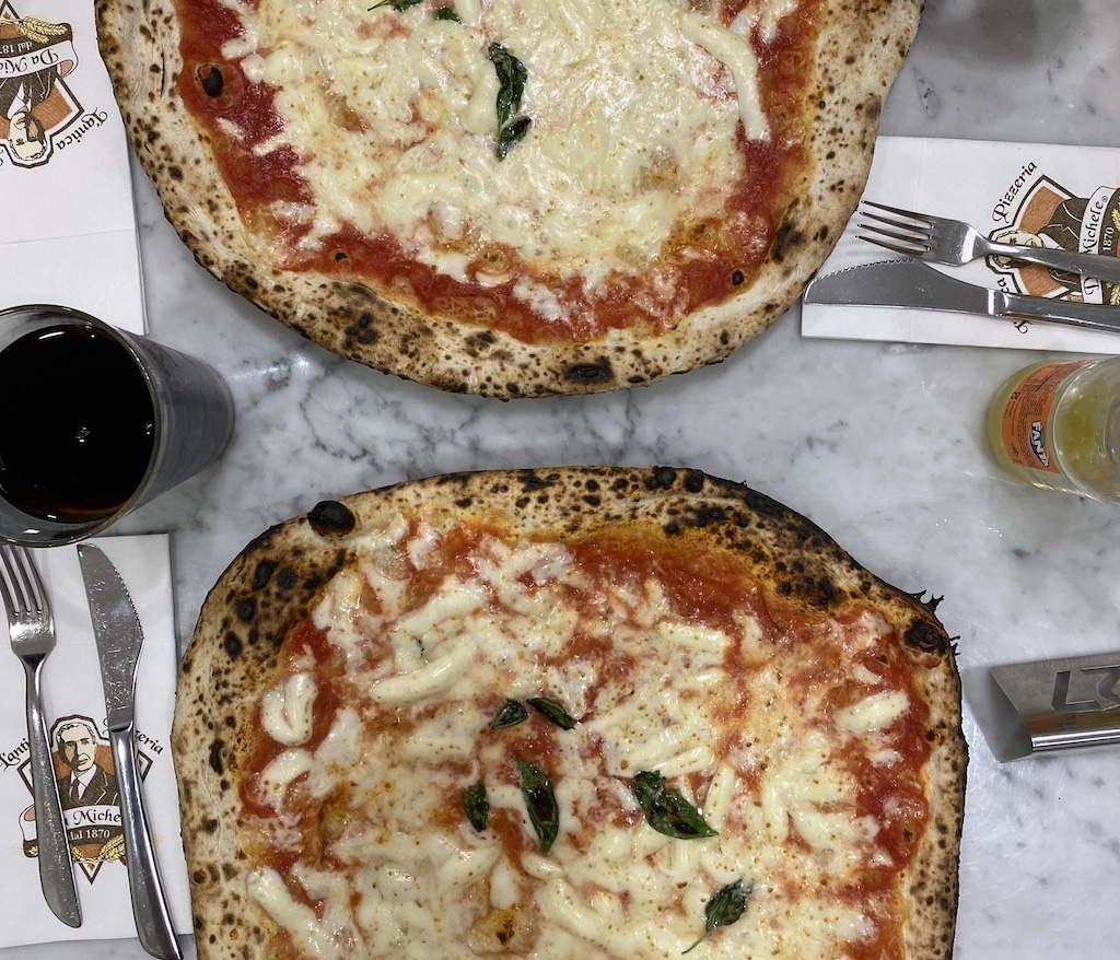 Lantica Pizzeria Da Michele dal 1870 Rome Italy