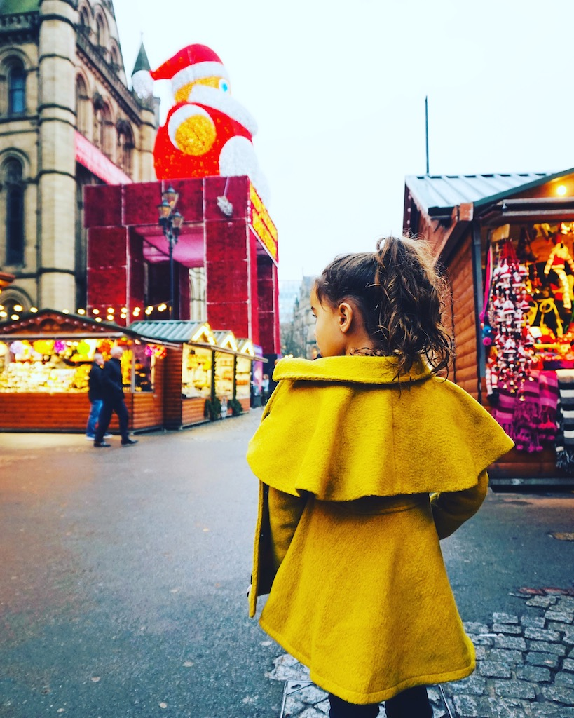 Shopping at the Manchester Christmas Markets