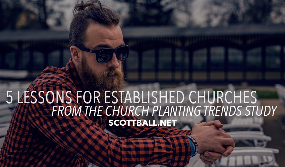 5 Lessons from the Church Planting Trends Study