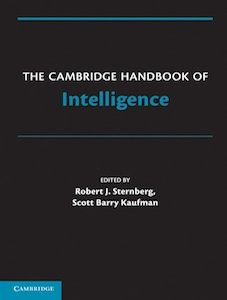 The Cambridge Handbook of Intelligence