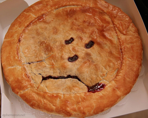 Artist's rendition of sad NEH pie. [via]