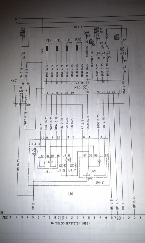 Switch Wiring Diagram On Wiring Diagram For Vauxhall Astra Towbar