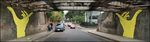 San Jose bridge support by Gualicho