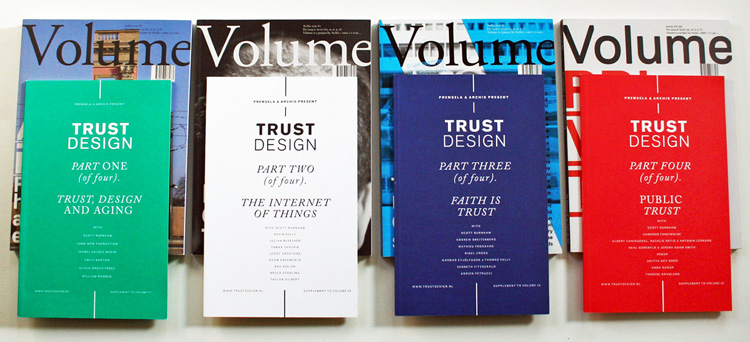 Trust Design publication series in collaboration with Volume.
