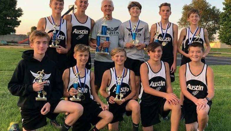 AMS Boys Cross Country Team Takes Win