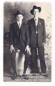 George W. Allen and Unknown Friend