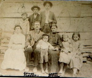 George FLANARY, Sarah FIELDS and Family