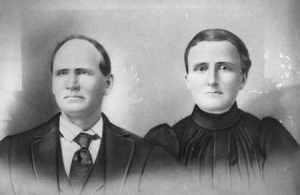 "James Haywood RHODES Sr. & Sarah L. ""Sallie"" CARTER"