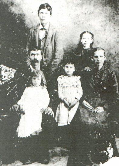 Martha BARNETT, Napoleon BARNETT and Family