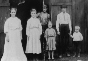 Rebecca Jane POWERS RAMEY TAYLOR,  her children and George W. TAYLOR