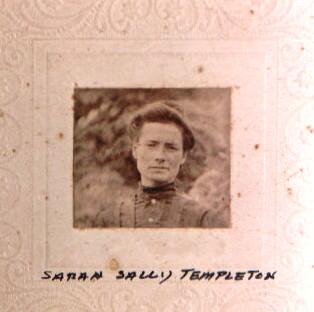 "Sarah Ellen ""Sally"" ALLEY TEMPLETON"