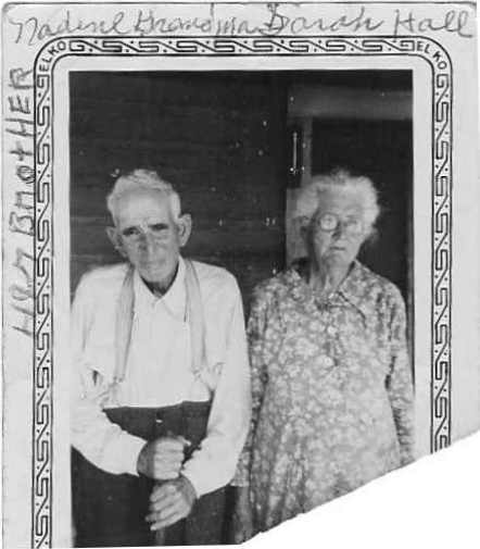 Sarah F. JONES HALL & Her Brother