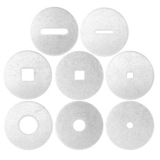 8 piece basic shape die set for scott creek clay guns