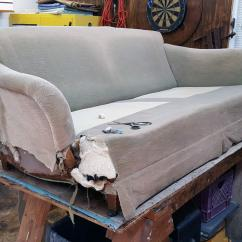 Repair Sofa Wood Frame Ashley Furniture Leather Sleeper Beam Replace Doityourself