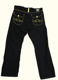 Crown Holder Jean HR50771 Color: Raw Blue - Scotteez Urban
