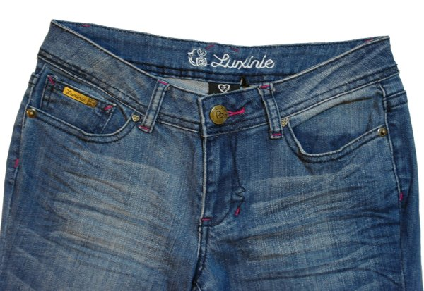 Luxirie Womens Jean Lrg Color Sky Wash Style