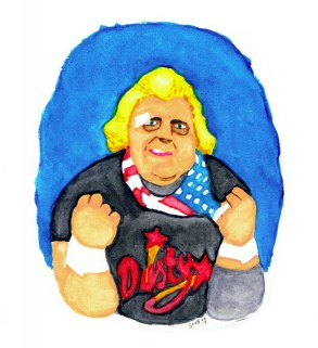 DustyRhodes-watercolour-sdf2017
