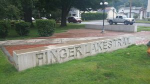 FLT sign at Lafayette Park in Watkins Glen, NY