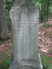 Gravestone of Civil War soldier