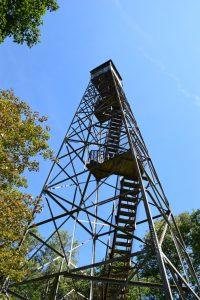 Rock Rift Fire Tower