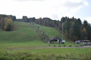 Ski lift at Swain Ski resort