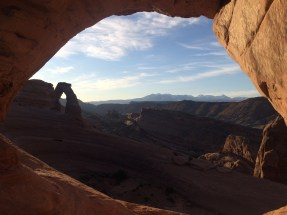 Yes we went here. (Delicate Arch)