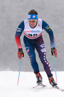 23.01.2016, Nove Mesto, Czech Republic (CZE): Scott Patterson (USA) - FIS world cup cross-country, 15km men, Nove Mesto (CZE). www.nordicfocus.com. © Rauschendorfer/NordicFocus. Every downloaded picture is fee-liable.