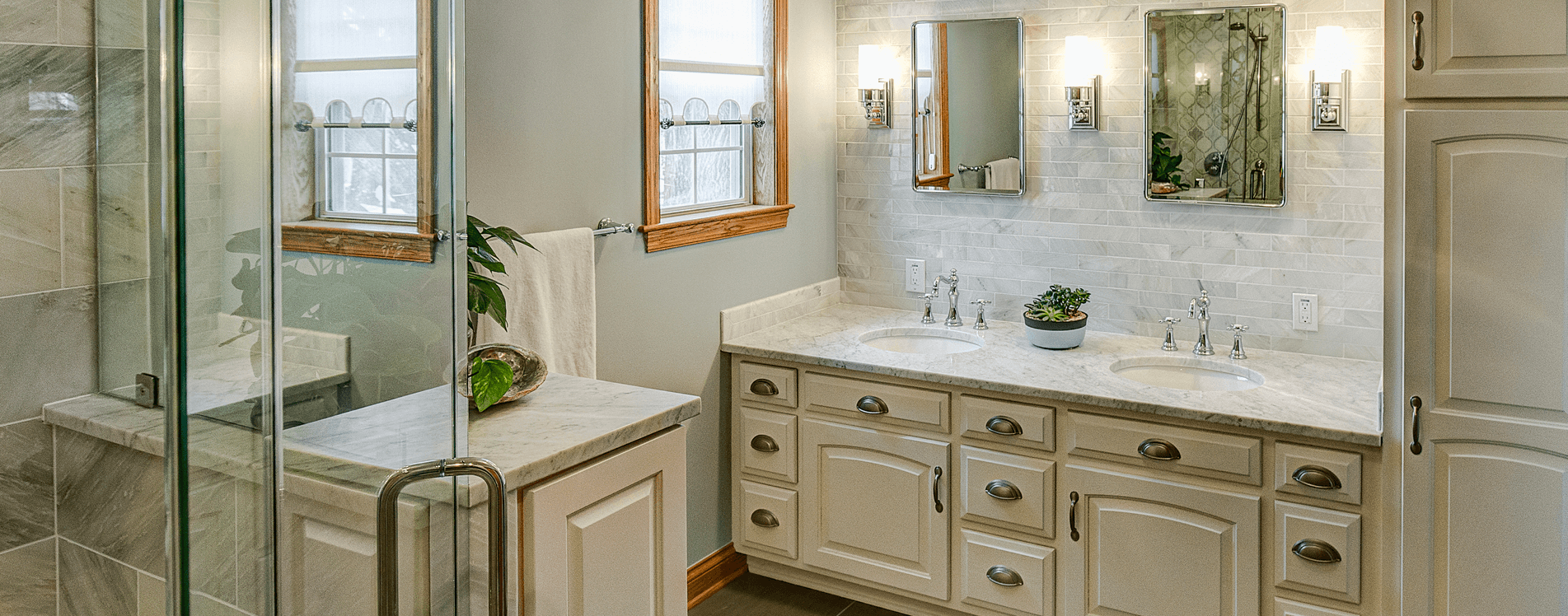 Advantages Of Custom Bathroom Cabinets And Vanities Scott Hall Remodeling