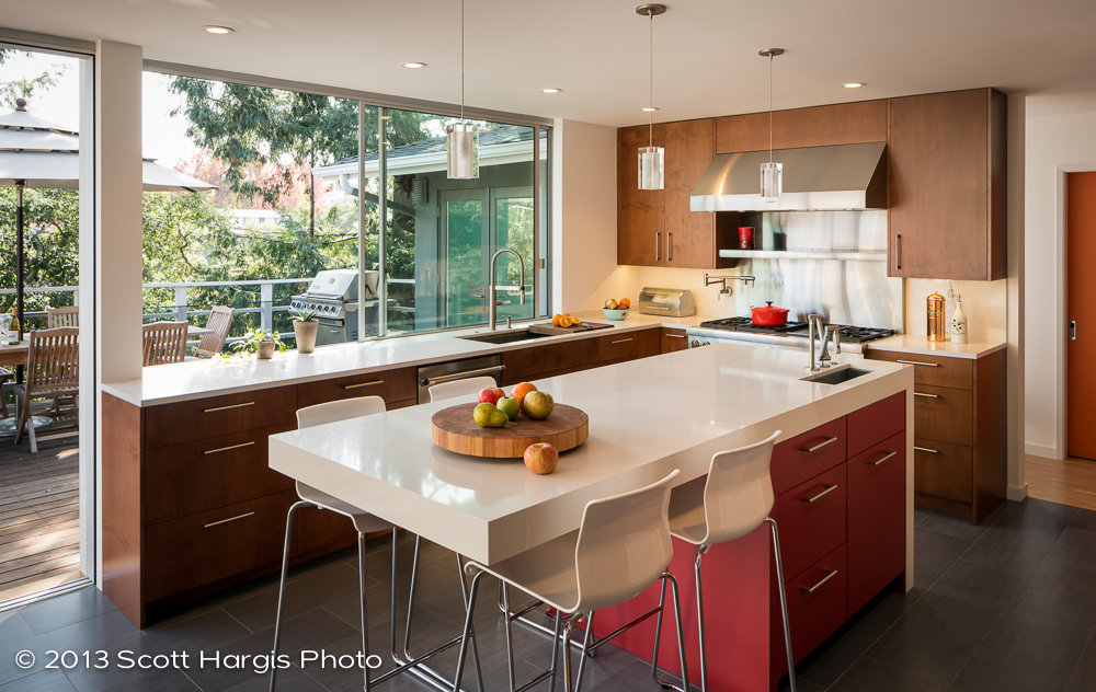 MidCentury Modern Kitchen Upgraded by Building Lab
