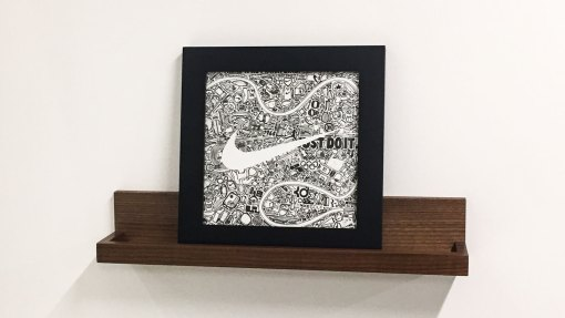 Nike Custom Art Piece