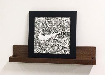 Nike Custom Art Piece
