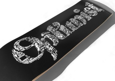 Efdot Studio Optimist Skate Deck