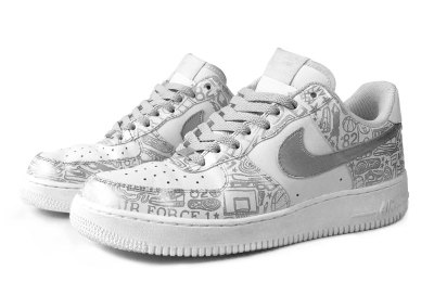 Iconoflage Air Force 1's