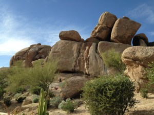 Waterfall at the Boulders photo by Scott Holleran