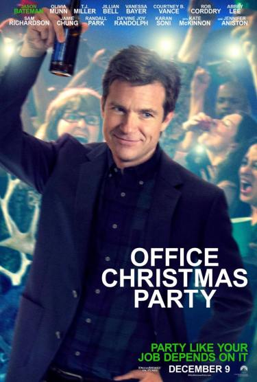 Office Christmas Party.Movie Review Office Christmas Party Scott Holleran