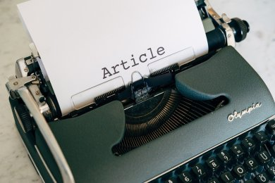 Write articles that showcase your expertise.