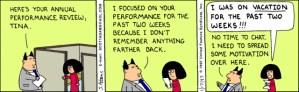 Dilbert Employee Evaluation funny