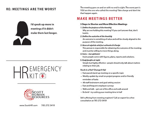 Death by Meeting (Free Printable, 5 Steps to Better Meetings