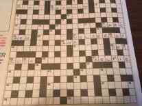 Crossword with Kelpies name