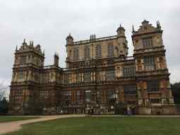Rear Elevation of Wollaton Hall