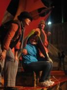 Kirsten as a parrot