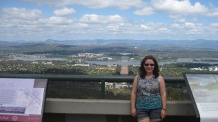 Me at Mt Ainslie