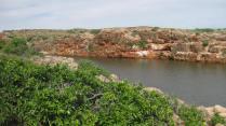 Yardie Creek rocks