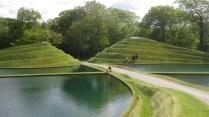 The road through Jupiter Artland's life mounds
